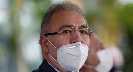 Na imagem, médico Marcelo Queiroga
