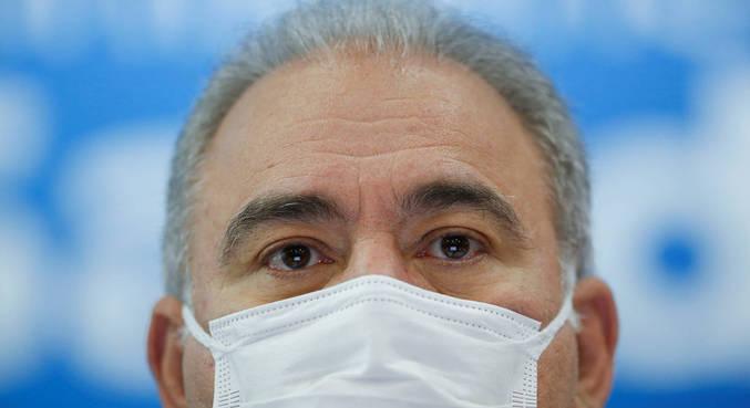 O ministro Marcelo Queiroga, que disse ser contra lei que obrigue uso de máscara