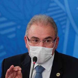 Queiroga diz que acesso a kit intubação será normalizado em 15 dias