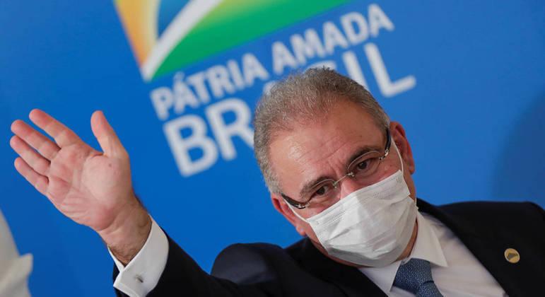 O ministro da Saúde, Marcelo Queiroga: reabre diálogo com chineses após mais de 2 meses.
