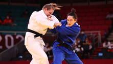 Mayra Aguiar vence sul-coreana e leva bronze no judô de Tóquio 2020