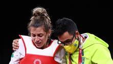 Milena Titoneli sente derrota no taekwondo, mas vibra: 'Lutei igual'