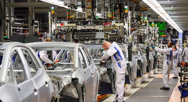 Volkswagen retomou a produção em fábrica de São Bernardo em um turno