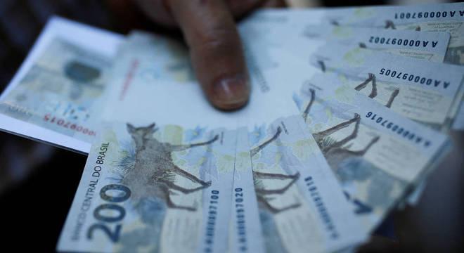 Nota de R$ 200, lançada neste ano pelo Banco Central