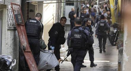 Operação policial ontem deixou 25 mortos no Rio