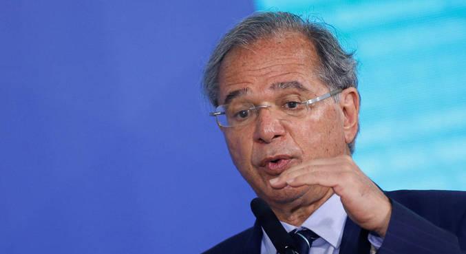 O ministro da Economia, Paulo Guedes, que defende limitar precatórios
