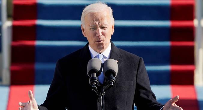 Em primeiro discurso, Biden pede união do país e relembra vítimas da covid-19
