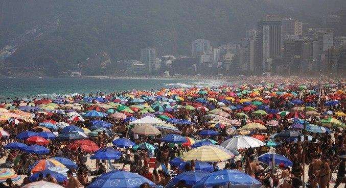 Apenas 19,57% da população do Rio de Janeiro tem anticorpos contra o coronavírus