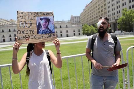 Chile enfrenta protestos de outubro de 2019