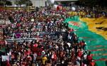 A previsão era de que cerca de 400 municípios tivessem manifestações contrárias ao governo programadas para este sábado. Além de São Paulo (SP), os municípios de Rio de Janeiro (RJ), Brasília (DF), Curitiba (PR), Pelotas (RS), Recife (PE), Goiânia (GO) e Aracaju (SE), entre outras, registraram atos contra o governo e em prol da vacinação em massa. Muitas cidades do interior de São Paulo, como Campinas, Limeira e Ribeirão Preto, também tiveram protestos