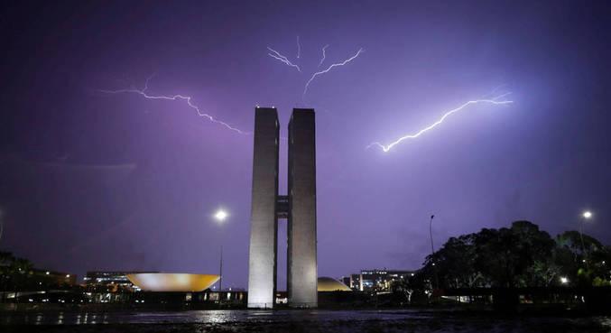 Distrito Federal vem se destacando em relação à quantidade de raios