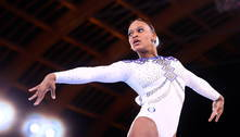 Rebeca Andrade vira favorita ao ouro após desistência de Biles