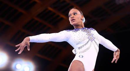 Ginasta Rebeca Andrade está em três finais