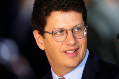 Na imagem, ministro Ricardo Salles
