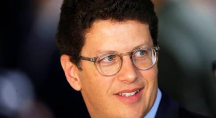 Na imagem, ministro Ricardo Salles (Meio Ambiente)