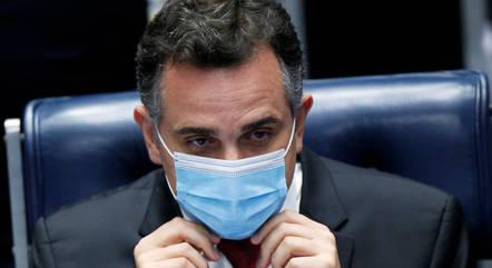 Na imagem, presidente do Senado, Rodrigo Pacheco