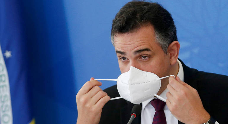 O presidente do Senado, Rodrigo Pacheco, determinou medidas de segurança para a primeira reunião da CPI