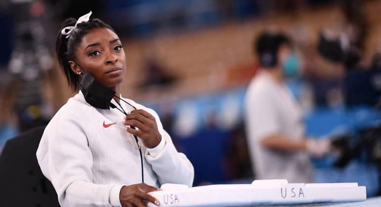 Simone Biles desistiu de competir na final da Olimpíada de Tóquio por saúde mental