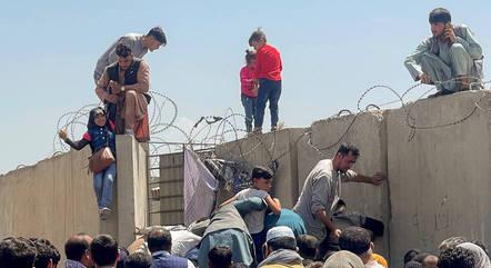 Situação de Cabul assusta o mundo