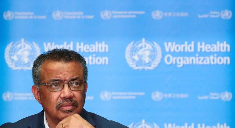 Tredos Adhanom pediu que países como os EUA cedam doses às nações com menos recursos