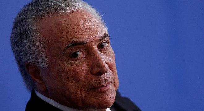 O ex-presidente Temer foi alvo de mandado de prisão expedido pela Justiça do RJ