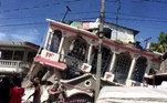 Terremoto no Haiti deixa pelo menos 227 mortosVEJA MAIS