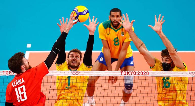 Brasil perdeu de virada na semifinal contra o Comitê Olímpico da Rússia