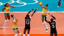 Seleção feminina de vôlei vence Quênia e encara Rússia nas quartas