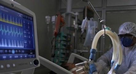 Medicamentos são usados para intubação de pacientes