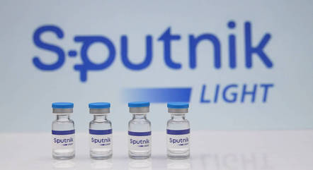 Na imagem, vacina russa Sputnik contra covid-19