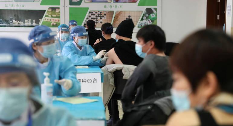 China tem capacidade para administrar 20 milhões de doses por dia