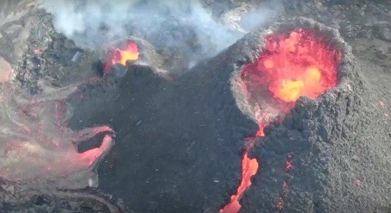 Vulcão entrou em erupção no último dia 19