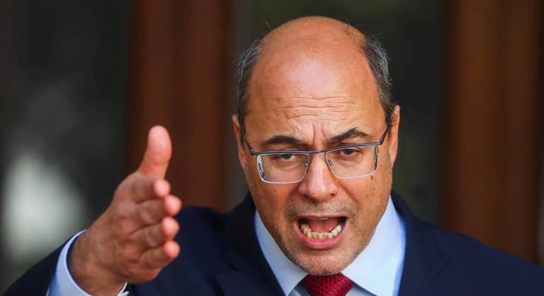 Wilson Witzel, governador afastado do Rio de Janeiro, é acusado de desvios na saúde durante a pandemia