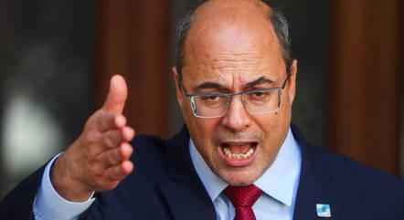 Witzel chamou de mentirosa as alegações feitas pelo secretário de Saúde do RJ