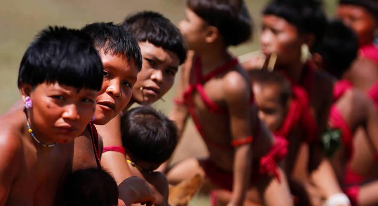 Indígenas da etnia Yanomami relatam violência por parte de garimpeiros ilegais na comunidade Palimiu