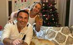Reinaldo Gottino passou a virada em casa, com segurança, com a família