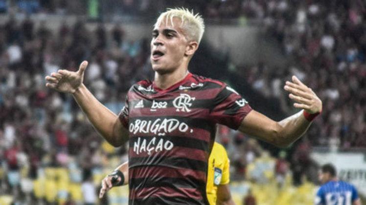 Revelado pelo Flamengo, Reinier aparece na relação.