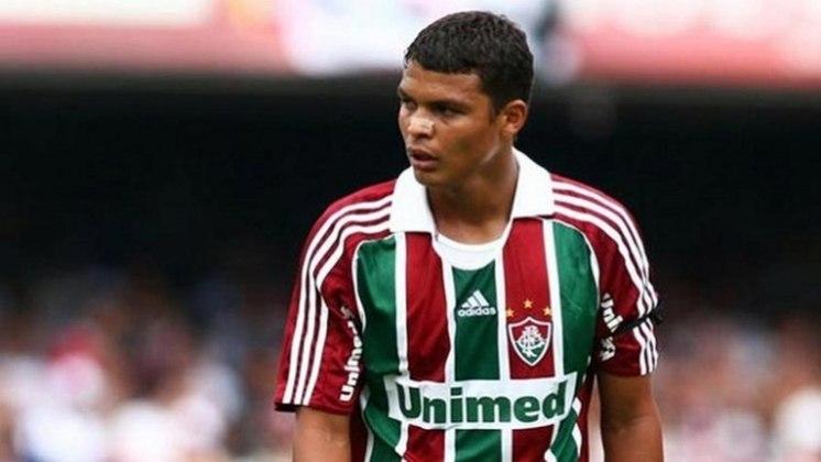 Revelado pelo Fluminense, o hoje zagueiro do Chelsea, Thiago Silva, era torcedor do Vasco na infância.