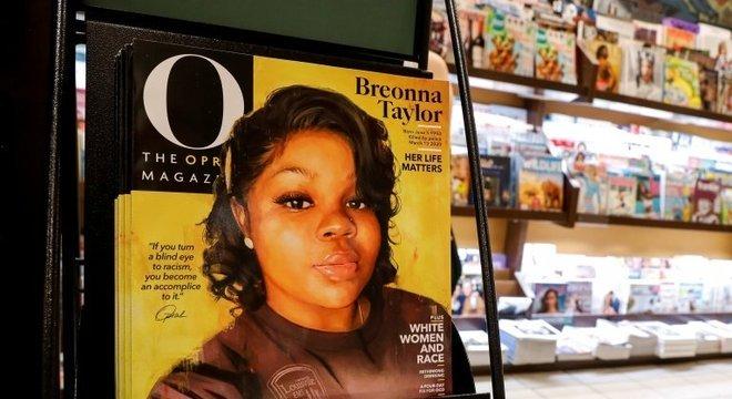 Revista de Oprah Winfrey destaca Breonna Taylor na capa