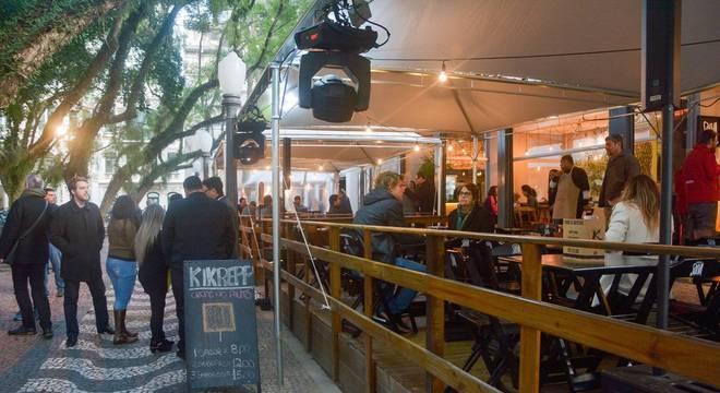 Revitalizado, Caminho dos Jacarandás é entregue Crédito: Guilherme Almeida