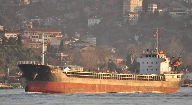 O Rosus era o cargueiro que levava o nitrato de amônio que explodiu em Beirute
