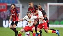 RB Leipzig empata com o Franfkurt e se distancia do Bayern