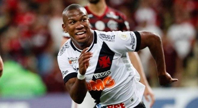 Ribamar (atacante) - Vasco - Pertence ao Pyramids FC (EGI)