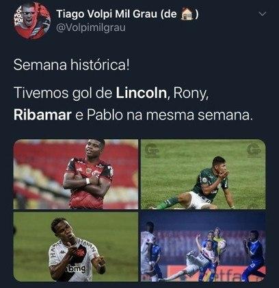 Ribamar, Lincoln e Rony marcam gols e agitam torcedores na web