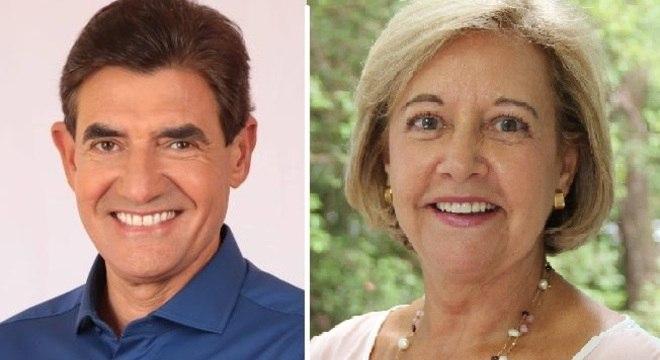 Duarte Nogueira e Suely Vilela