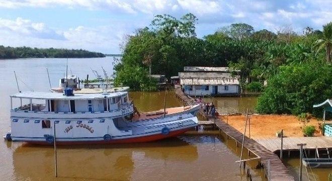 """A premiada série """"Os Piratas da Amazônia"""", do Câmera Record"""