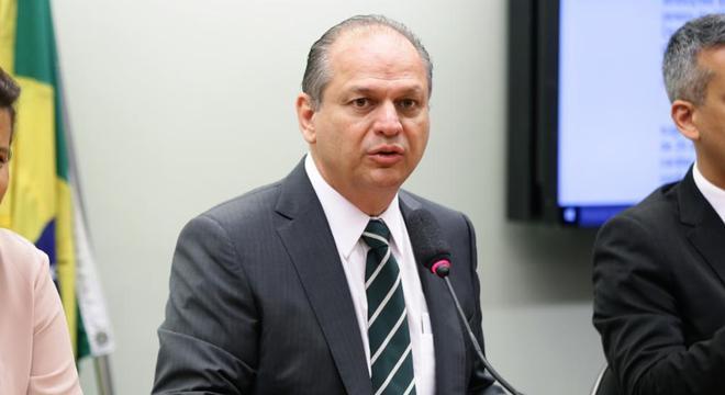 O deputado Ricardo Barros, lider do governo na Câmara