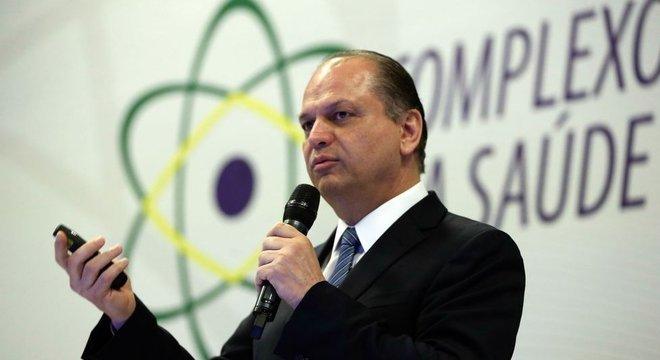 Antes de concorrer à reeleição na Câmara, Ricardo Barros foi ministro da Saúde do governo Temer
