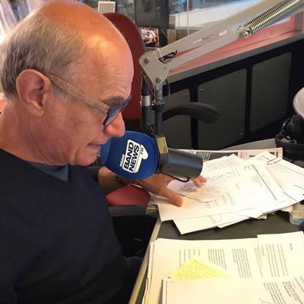 Quando estava na rádio, o jornalista dava o telefone no ar para os ouvintes que quisessem entrar em contato com ele