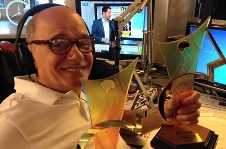 Boechat conquistou vários prêmios como jornalista